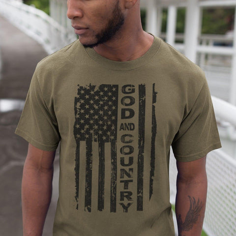 God and Country T-shirt