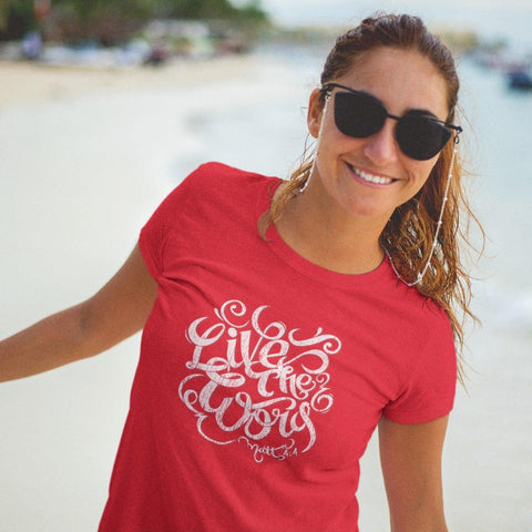Live The Word | Women's Slim Tee