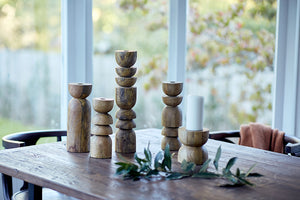 Alev Candle Holder - Natural