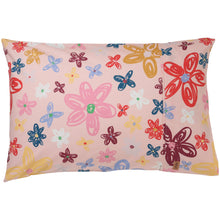 Load image into Gallery viewer, Pansy Cotton Pillowcase 1P