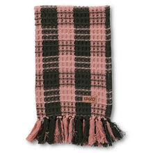 Load image into Gallery viewer, Tuscan Tartan Waffle Hand Towel