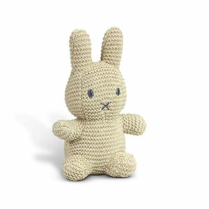 Miffy Cotton Knitted Toy Natural