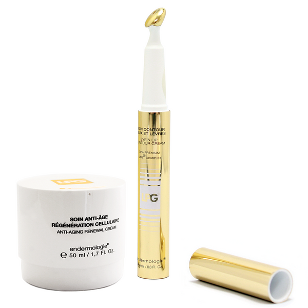 NEW LPG DUO PACK Anti-Aging Renewal Crem + Eye & Lip Countour Cream