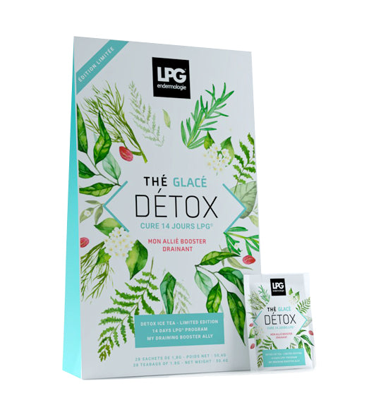 LPG limited edition Detox ice tea