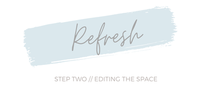 Refresh 02: Editing the Space