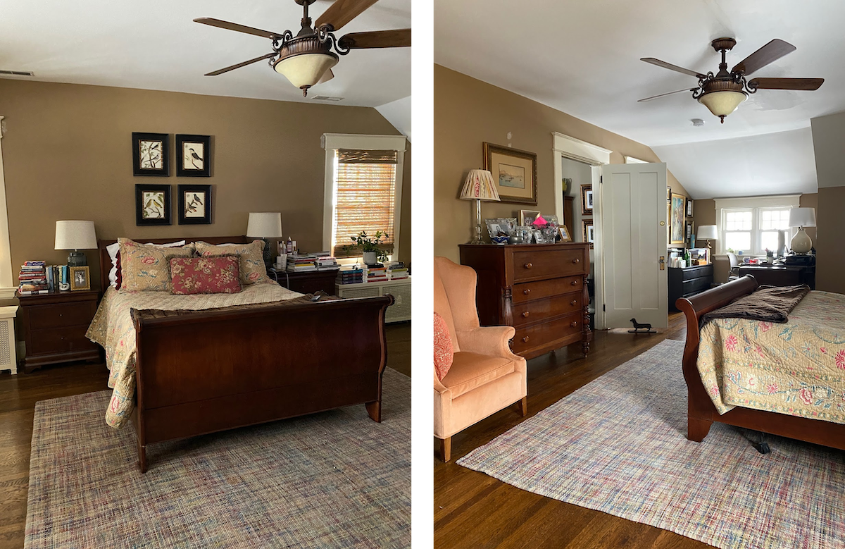 Master bedroom refresh at Mary Hawthorne Interiors