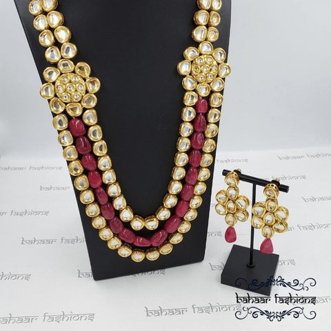 Bahaar Fashions Imperial Kundan Necklace Set