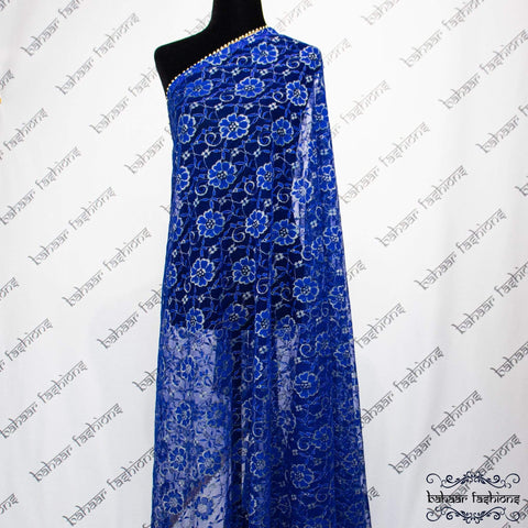 Bahaar Fashions Royal Blue Dhuppata