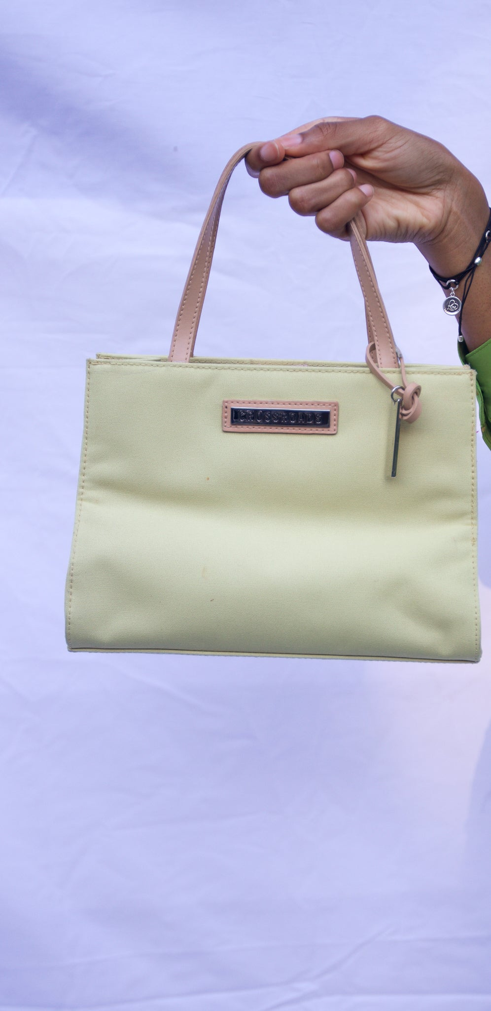 Vintage Mini Light Green Purse