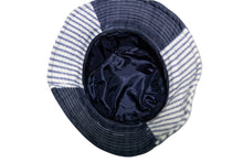 Load image into Gallery viewer, Two Toned Denim Bucket Hat