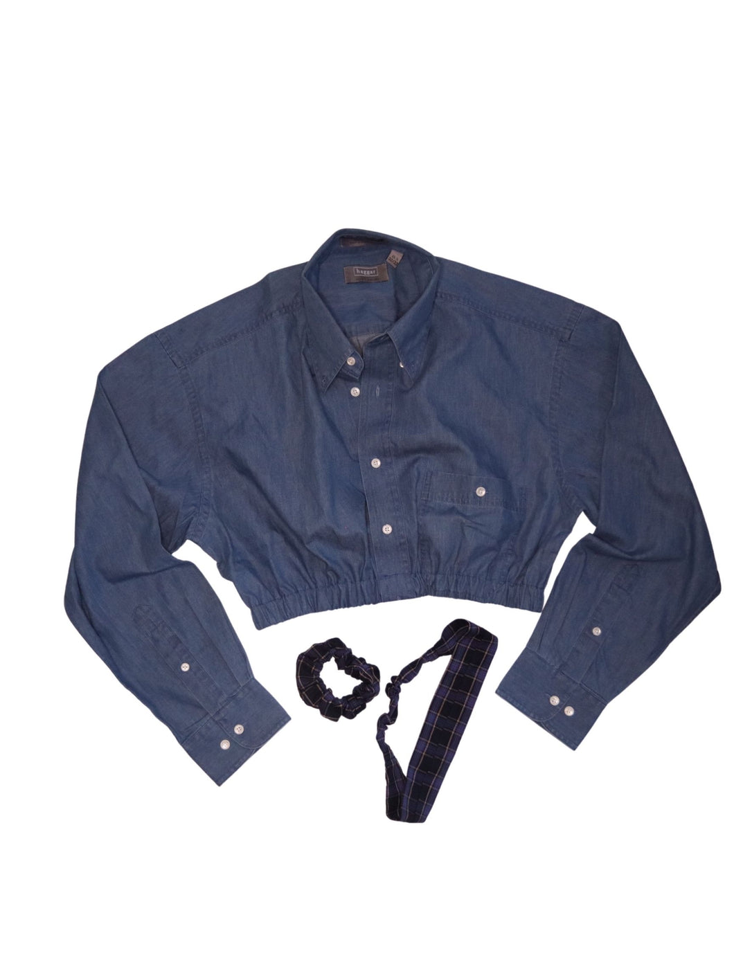 Reworked Denim button up
