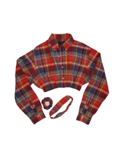 Load image into Gallery viewer, Reworked Colorful RL plaid button up