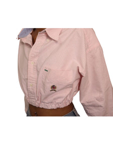 Reworked Pink Tommy Hilfiger Top