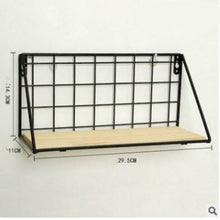 Load image into Gallery viewer, Nordic simple modern iron mesh rack kitchen bathroom partition storage