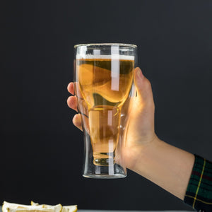 Double Wall Pint Glass