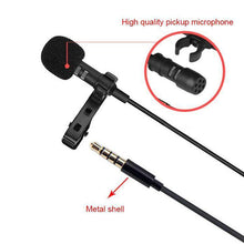 Load image into Gallery viewer, AMZER 1.5m Lavalier Wired Recording Microphone Mobile Phone Karaoke