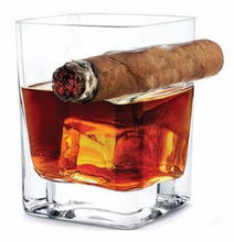 Load image into Gallery viewer, Creative whisky cigar glass