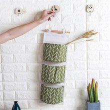 Load image into Gallery viewer, 3 Layer Pouch Wall Hanging Storage Bag Kitchen