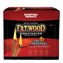 Load image into Gallery viewer, Better Wood Products  Fatwood  Fire Starter  0.25 cu. ft.