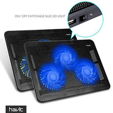 "Load image into Gallery viewer, 15.6""-17"" Laptop Cooling Pad"