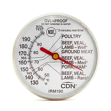 Load image into Gallery viewer, CDN IRM190 Ovenproof Meat Thermometer