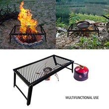 Load image into Gallery viewer, Folding Campfire Grill, Portable and Heavy Duty Camp Grill Grate