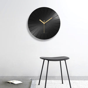 Acrylic solid wall clock (12inch)