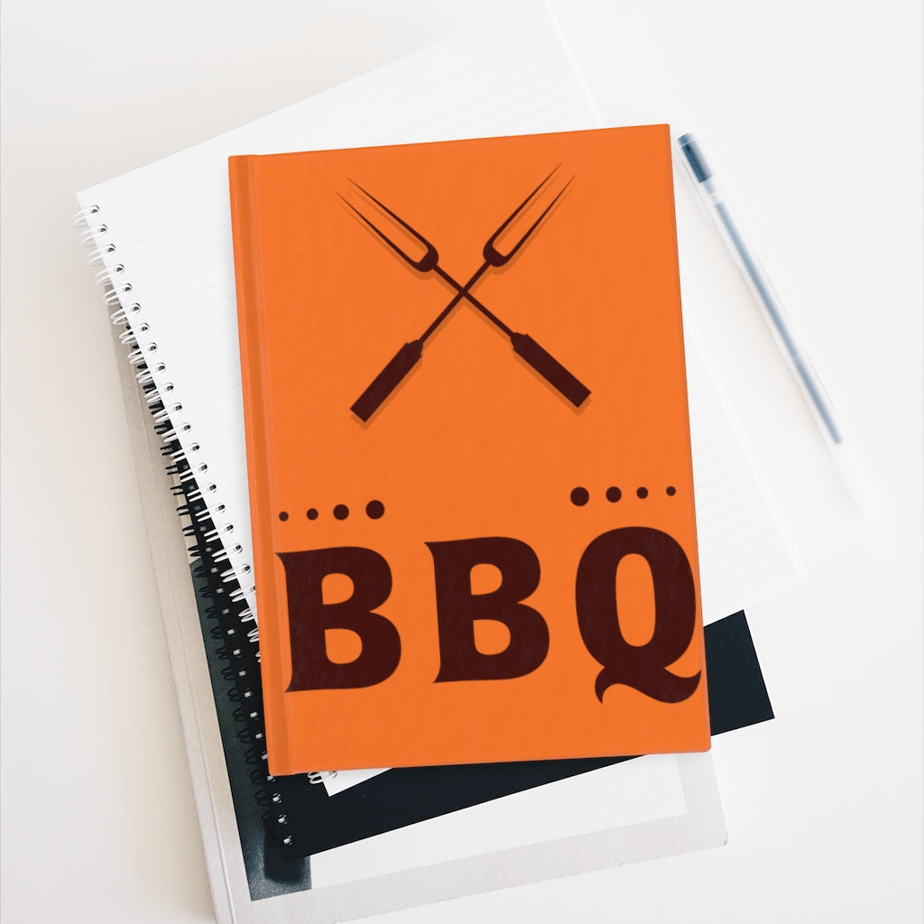 BBQ Recipe Book Or Chef's Journal