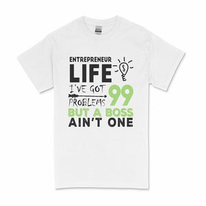 Entrepreneur Life Ladies Pjs T-Shirt