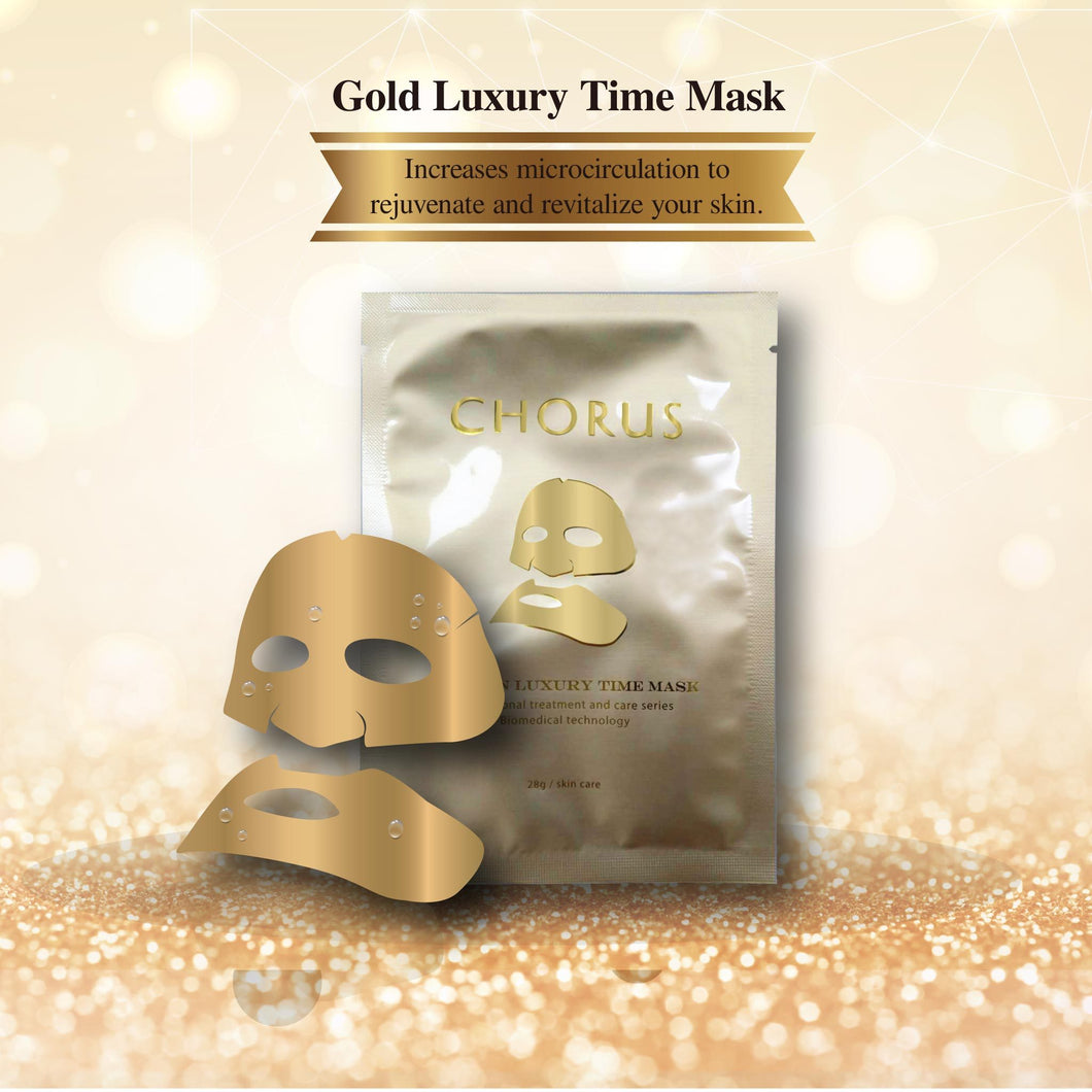 Luxury Time Facial Mask Gold