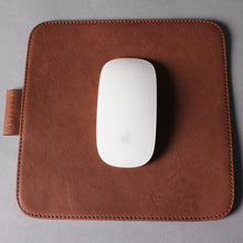 Load image into Gallery viewer, High Leather Square Mouse Pad
