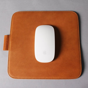 High Leather Square Mouse Pad