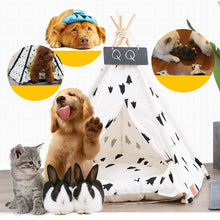 Load image into Gallery viewer, Puppy Teepee Bed