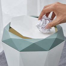 Load image into Gallery viewer, Modern Simple Plastic Waste Tub