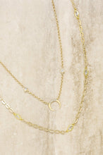 Load image into Gallery viewer, Crescent Horn 18k Gold Plated Layered Necklace Set