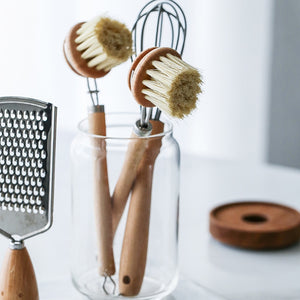 Natural Beach Wood Cleaning Brush
