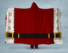 Load image into Gallery viewer, Santa Claus Coat Hooded Blanket