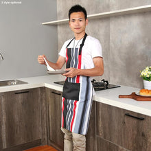 Load image into Gallery viewer, Striped Cotton Apron