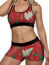 Load image into Gallery viewer, Christmas Wrap Boy Shorts