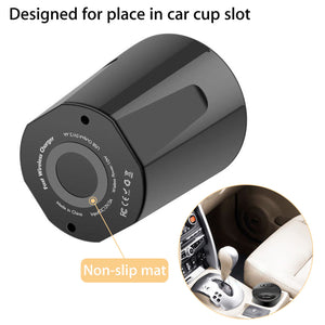 Wireless Car Charger Cup Holder