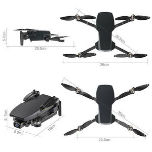 Foldable 4K WiFi GPS 5G Drone HD Cam Quadcopter