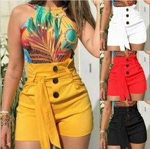 Load image into Gallery viewer, Summer Shorts High-Waisted