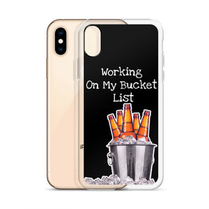 Bucket List Tough iPhone Case