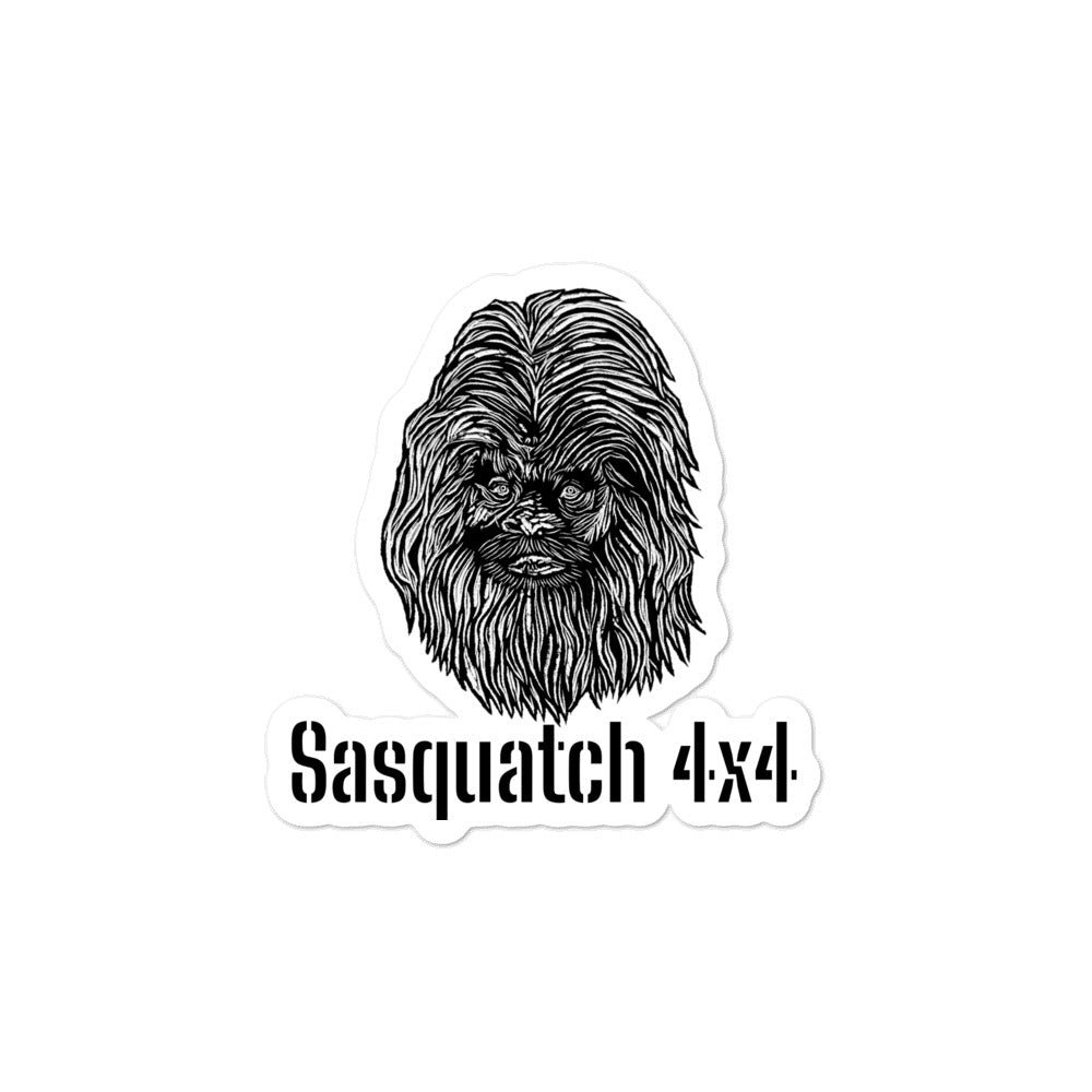 Bronco Sasquatch 4x4 Package Sticker