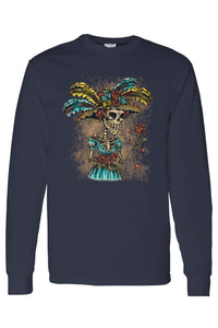 La Katrina Sugar Skull Long Sleeve