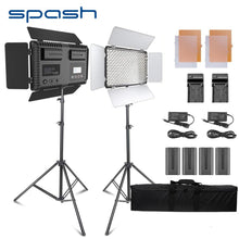 Load image into Gallery viewer, 2 Sets Professional Grade Studio lights LED