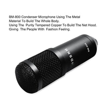 Load image into Gallery viewer, Professional bm 800 Condenser Microphone 3.5Mm Wired Bm-800 karaoke
