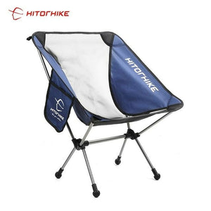 Portable Collapsible Moon Chair Fishing Camping BBQ Stool Folding