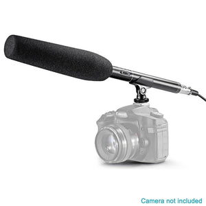 PRO Microphone for Canon/Nikon/Sony Camcorder DSLR Shotgun
