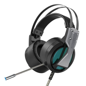 Gaming Headset w/ Mic 7.1 Surround Sound Noise Cancelling